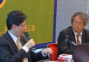 著者と語る『平成デモクラシー史』清水真人・日本経済新聞編集委員 写真 3