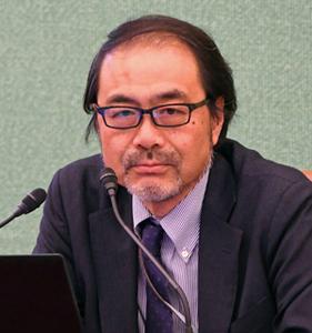 著者と語る『官僚たちのアベノミクス-異形の経済政策はいかに作られたか』 軽部謙介・時事通信解説委員 写真 2