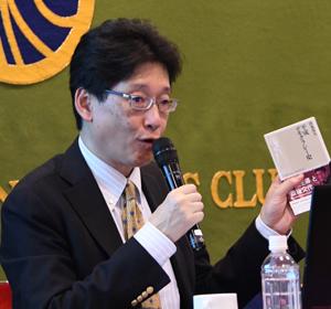 著者と語る『平成デモクラシー史』清水真人・日本経済新聞編集委員 写真 2