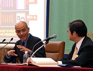 「公文書管理を考える」(2) 仲本和彦・沖縄県公文書館・アーキビスト 写真 3