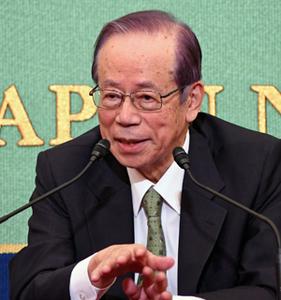 「公文書管理を考える」(3) 福田康夫・元首相 写真 2