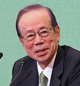 「公文書管理を考える」(3) 福田康夫・元首相 写真 1