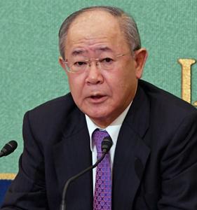 大久保好男・民放連会長 会見 写真 2