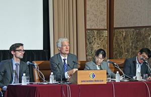 OECD日本の教育政策に関する報告書 発表会見 写真 3