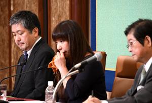 安田純平さんを救う会 緊急会見 写真 1