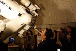 国立天文台天体観望会 写真 1