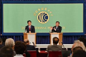 自民党総裁選立候補者討論会 写真 1