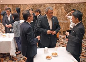 ラフマーニ新駐日イラン大使 会見 写真 5