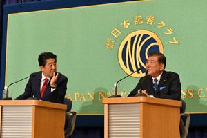 自民党総裁選立候補者討論会 写真 4