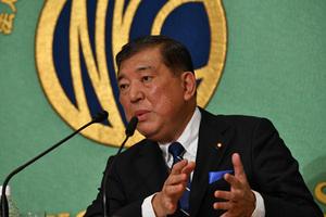 自民党総裁選立候補者討論会 写真 3
