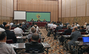 ラフマーニ新駐日イラン大使 会見 写真 4