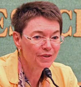 パトリシア・フロア・次期駐日欧州連合大使 会見 写真 1