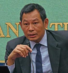 ミャンマー人権活動家 マウン・ザーニ氏 会見 写真 2