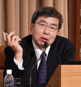 中尾武彦・アジア開発銀行(ADB)総裁 記者会見 写真 2