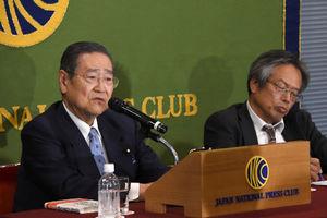 「消費税 これまで・これから」(3) 野田毅・自民党税調最高顧問 写真 3