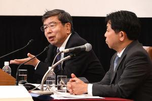中尾武彦・アジア開発銀行(ADB)総裁 記者会見 写真 3
