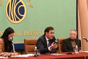 ホルヘ・トレド・アルビニャーナ駐日スペイン大使 会見 写真 3