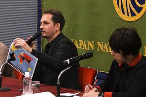 「日本の報道の自由度」セドリック・アルヴィアーニ・国境なき記者団東アジア総事務局長 写真 3