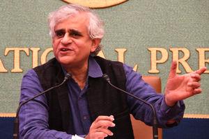 「ジャーナリストが見たインドの経済格差」パラグミ・サイナート氏 写真 2