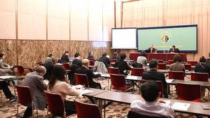 葛西健・世界保健機関西太平洋地域事務局長 会見 写真 4