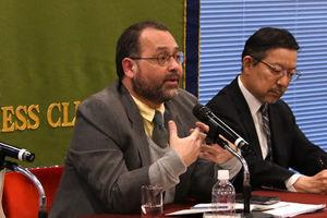 ホセ・ルイス・マーティン・C・ガスコン フィリピン人権委員会議長 会見 写真 3