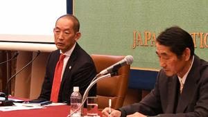 葛西健・世界保健機関西太平洋地域事務局長 会見 写真 3