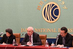 イーホル・ハルチェンコ駐日ウクライナ大使 会見 写真 3