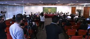 中国エコノミスト代表団 会見 写真 10