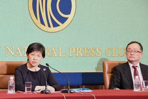 中満泉・国連事務次長(軍縮担当上級代表) 会見 写真 3
