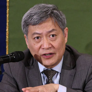 中国エコノミスト代表団 会見 写真 3