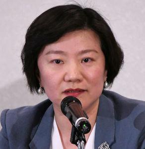 中国エコノミスト代表団 会見 写真 1