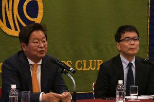 「朝鮮半島の今を知る」(25) 陳昌洙・世宗研究所主席研究員(前所長) 写真 3