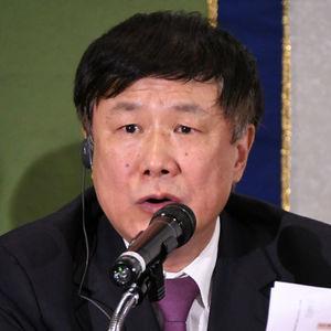 中国エコノミスト代表団 会見 写真 6