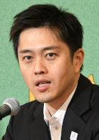 吉村洋文・大阪府知事、松井一郎・大阪市長 会見 写真 3