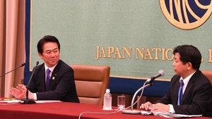 「プラットフォーマー規制の論点」(2) 伊藤達也・自民党競争政策調査会長 写真 3