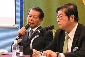 著者と語る『シンクタンクとは何か』 船橋洋一アジア・パシフィック・イニシアティブ理事長 写真 3