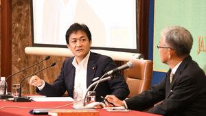 「野党に聞く」(3) 玉木雄一郎・国民民主党代表 写真 3