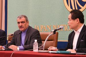 ラフマーニ駐日イラン大使 会見 写真 3