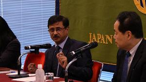 サンジェイ・クマール・ヴァルマ駐日インド大使 会見 写真 3