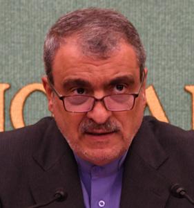 ラフマーニ駐日イラン大使 会見 写真 1