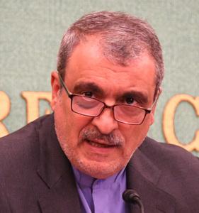 ラフマーニ駐日イラン大使 会見 写真 2