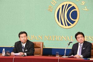 「野党に聞く」(2) 枝野幸男・立憲民主党代表 写真 4