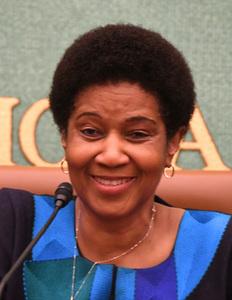 ムランボ・ヌクカ国連女性機関(UN Women)事務局長 会見 写真 2