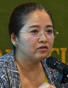 林玲子・国立社会保障・人口問題研究所 国際関係部長 会見 写真 2