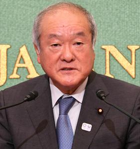 鈴木俊一・東京オリンピック・パラリンピック競技大会担当大臣 会見 写真 2