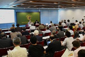 林玲子・国立社会保障・人口問題研究所 国際関係部長 会見 写真 4