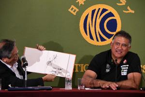 ジェイミー・ジョセフ・ラグビー日本代表ヘッドコーチ 会見 写真 5