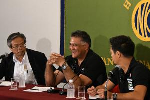 ジェイミー・ジョセフ・ラグビー日本代表ヘッドコーチ 会見 写真 4