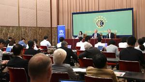 フィリッポ・グランディ国連難民高等弁務官 会見 写真 4
