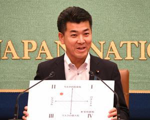 「次代に問う 10年後の政治」(1) 泉健太・衆議院議員(国民民主党) 写真 3